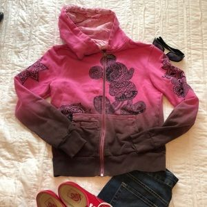 Disney Jacket - Pink to Chocolate Brown
